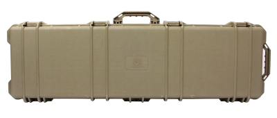 New Color - Tan Hard Wheeled Gun Case 42 inch ( ...