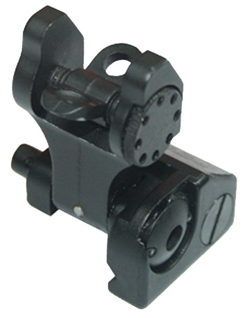 Flip-up Rear Battle Sight