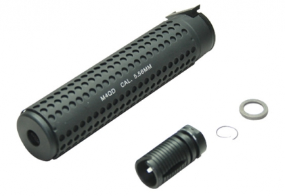 M4 QD Silencer (Anticlockwise threadflash hider was included)