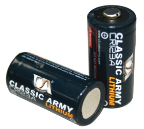 CR 123A Battery Double Pack